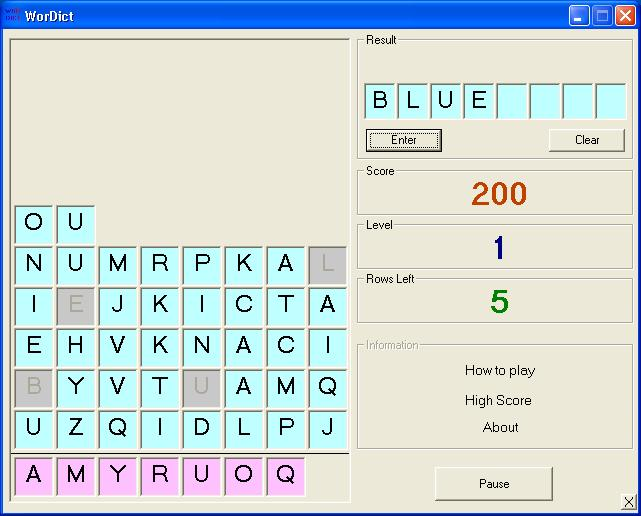 AJSoft - WorDict Learn English by playing games | Free download ...